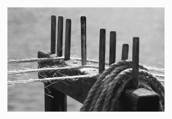 Twisting rope