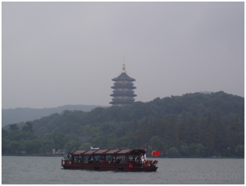 Boat Cruise at the West Lake