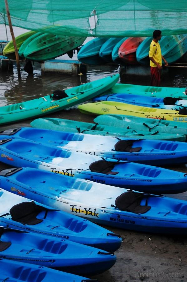 Kayak day in Krabi