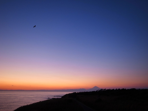Sunset at Jogashima, Japan