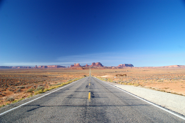 "monument valley "" forest gump point""  Arizona USA"