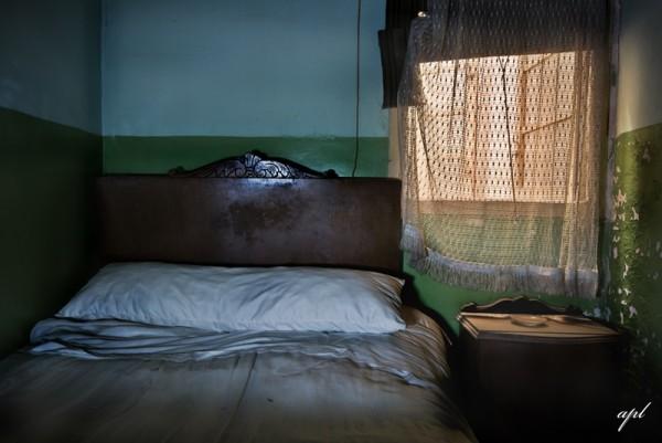 Donde nunca faltaba habitacion, con una buena cama