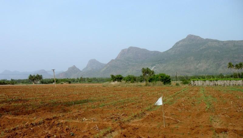 mountain range..