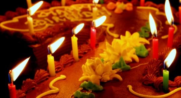 birthday candles..