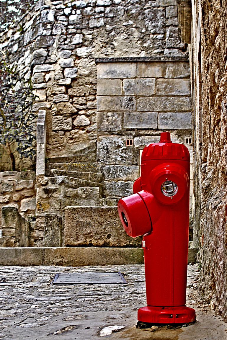 Fire hydrant in Les Baux de Provence