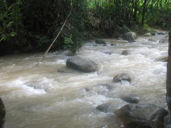 River At Ulu Selim Tg. Malim Perak