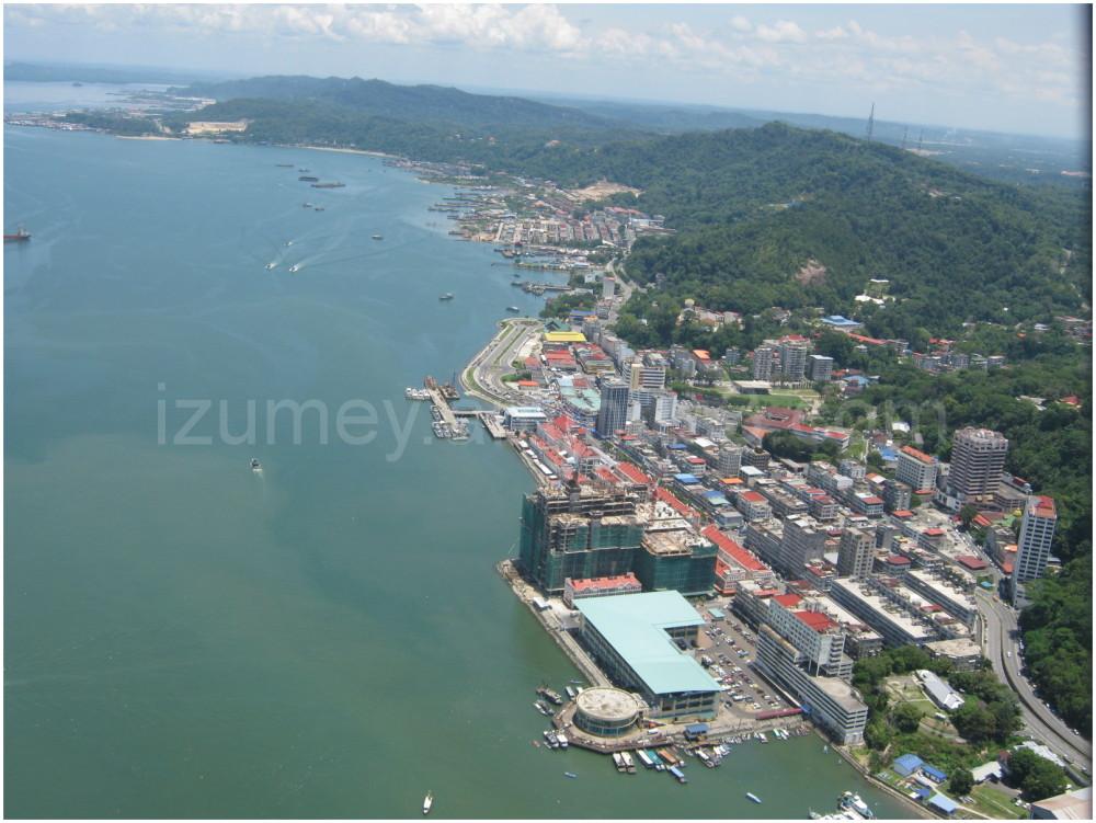 Sandakan Town From Sky
