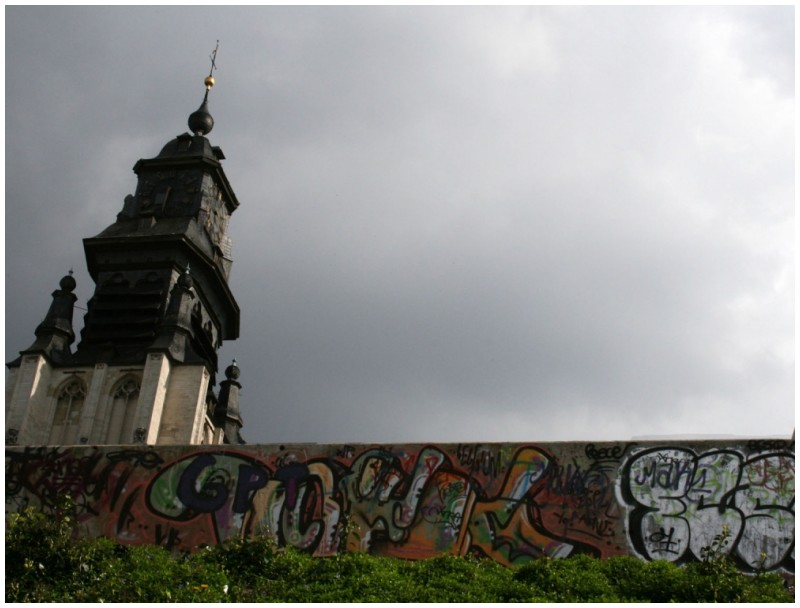 Graffiti church