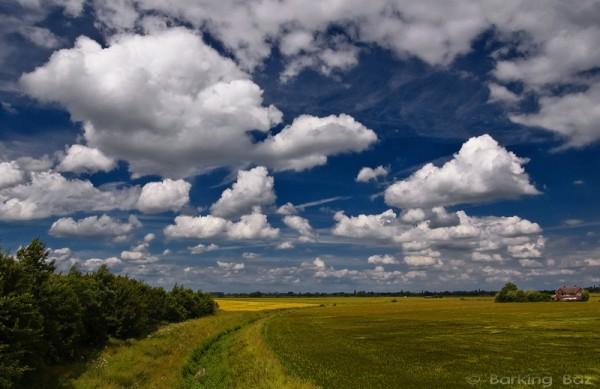Sky over Helpston