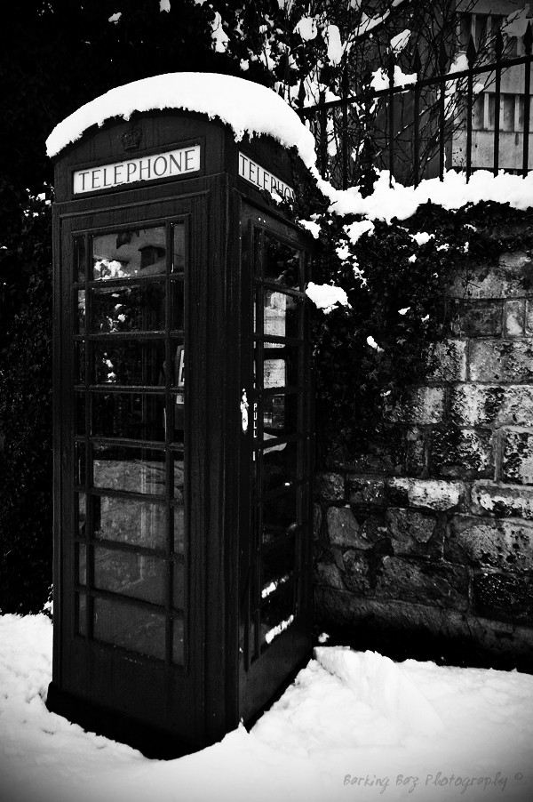 Telephone in BW