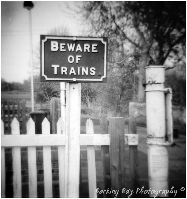 Beware of  Trains...