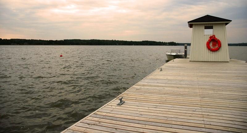 Finnish pier.