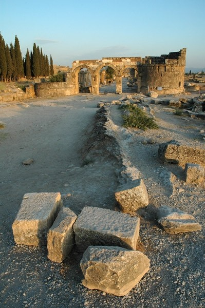 Hierapolis alley. (turkish trip)