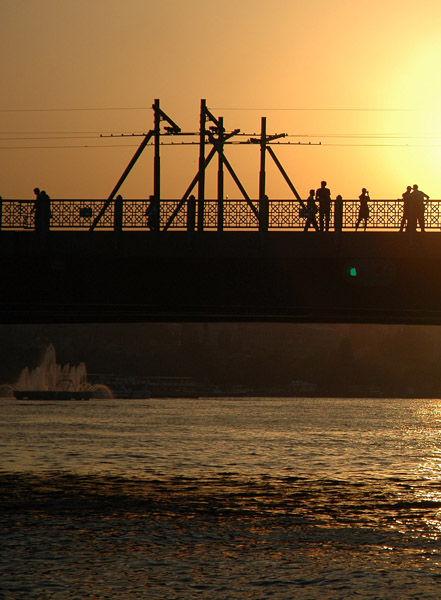 Istanbul bridge. (turkish trip).