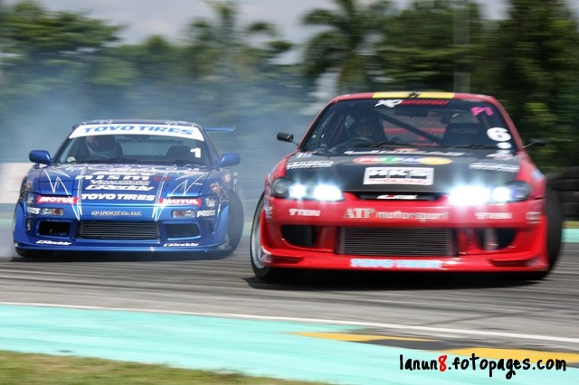 lanun8 team toyo drift competition