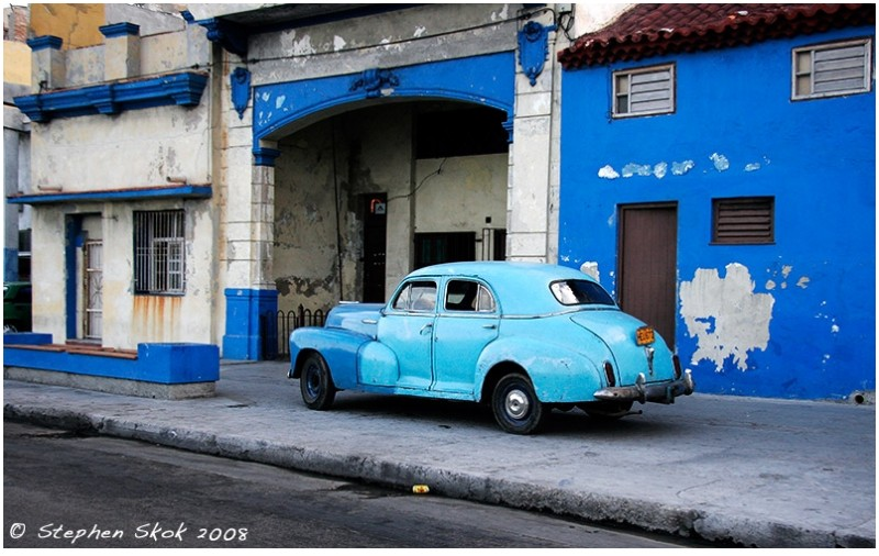 Havana Cuba night skyline