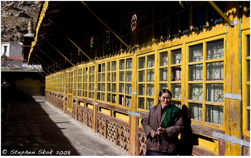 Drepung monastery tibet lhasa pilgrim