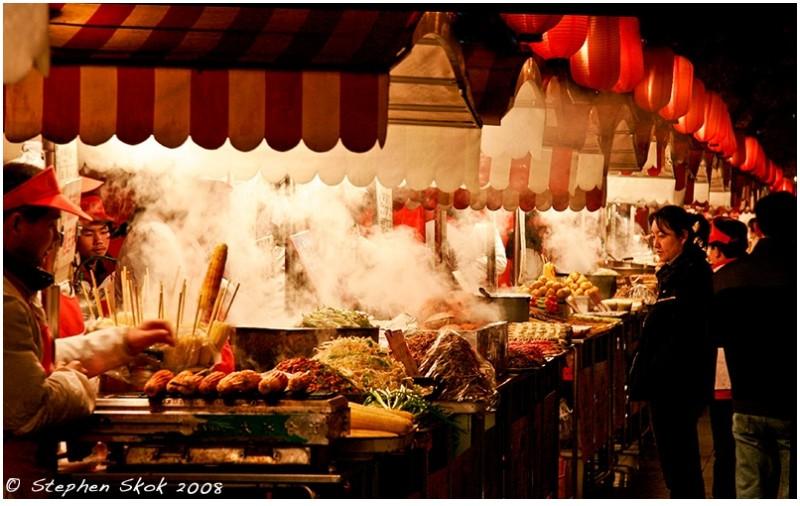 beijing china food Wangfujing