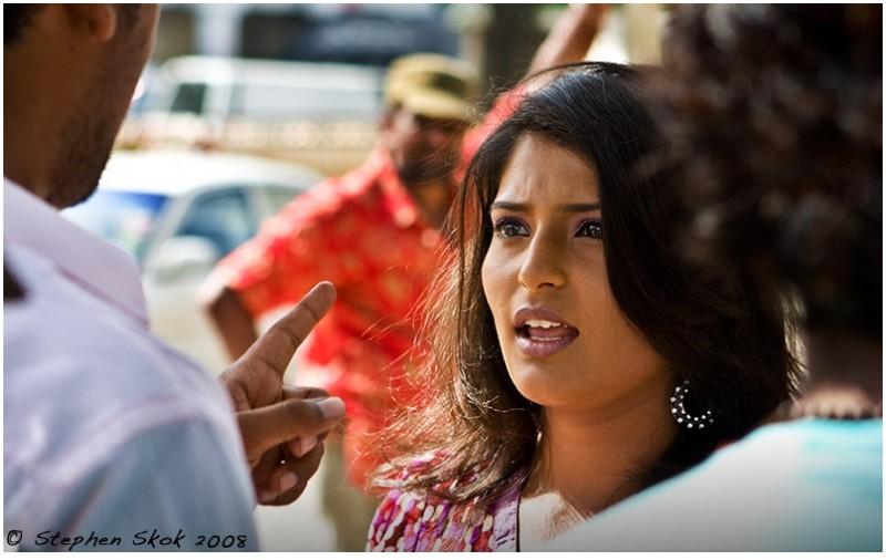 Petronas Twin Towers indian film crew