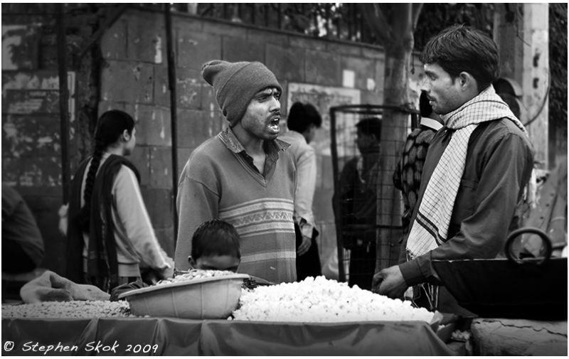 Delhi India street