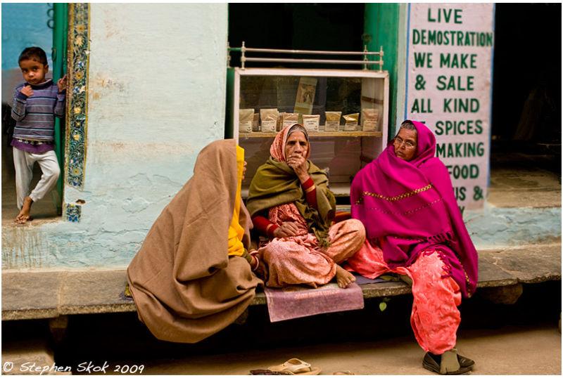 Udaipur Rajasthan India street