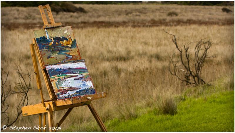 Aireys Australia autumn painting art
