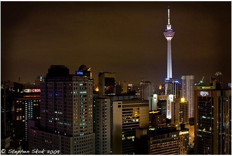 Malaysia Kuala Lumpur KL tower street