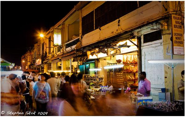 malacca malaysia shopping night market