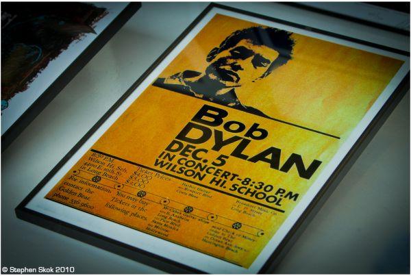 St Kilda Bob Dylan  poster street photowalk