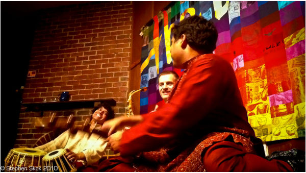 Tihai Boite Melbourne tabla Makwana Buff music