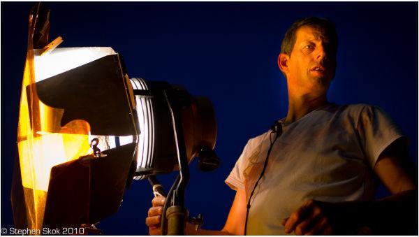 Sunset Six  Australian feature film RED gaffer