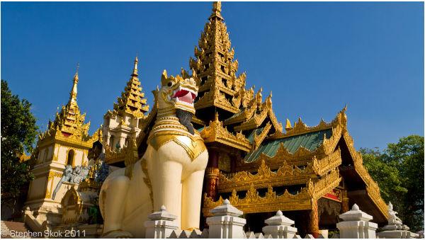 Burma Myanmar Yangon Rangoon Shwedagon Paya