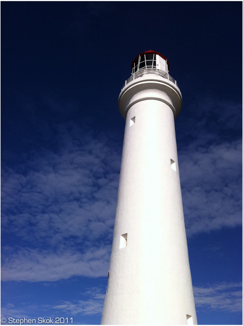 Aireys Inlet  lighthouse Victoria iPhone Asutralia