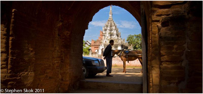 Burma Myanmar Bagan Pagoda