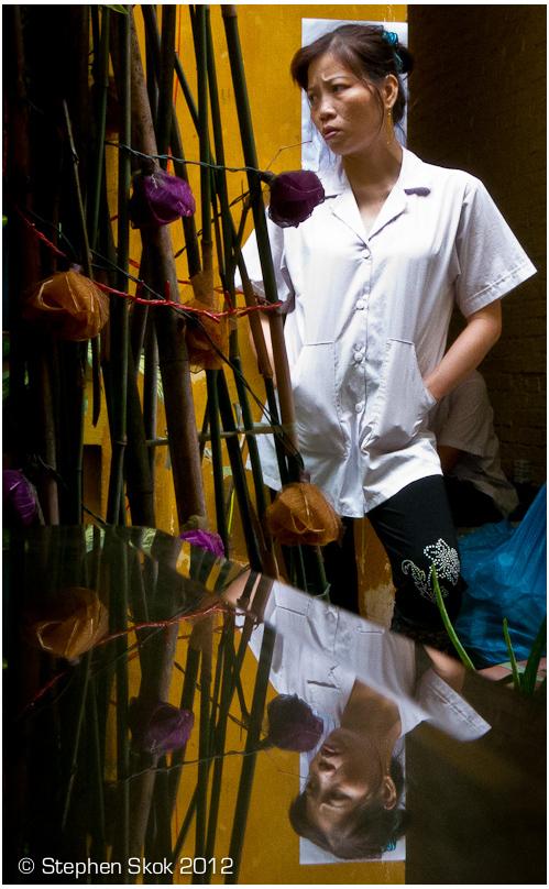 Vietnam, Saigon, restaurant, workers, street, S100
