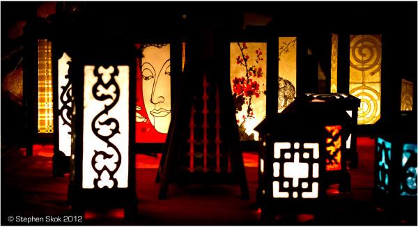 Vientiane, Laos,Mekong, night, market,street
