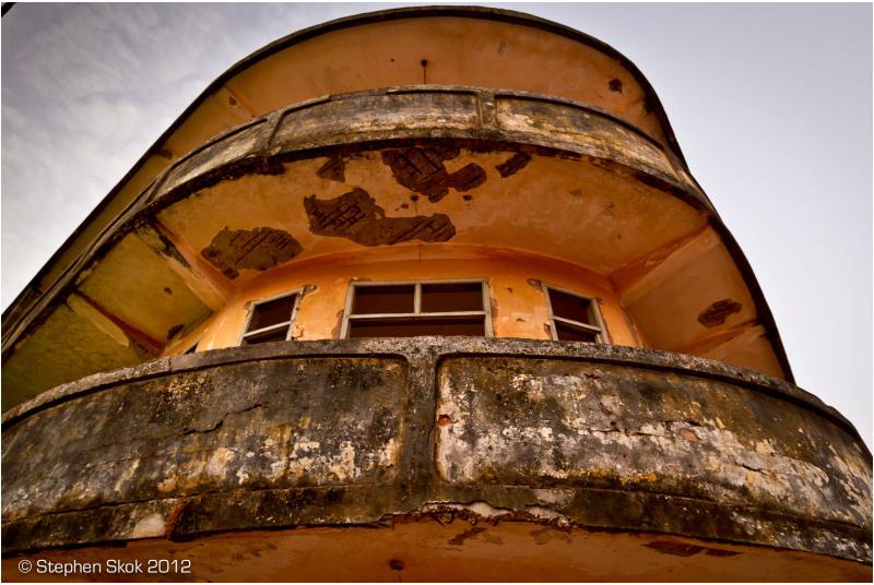 Vientiane, Laos,Mekong, art Deco,street
