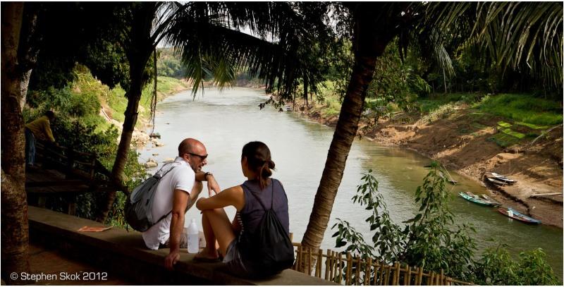 Luang Prabang, Laos, Khan, river