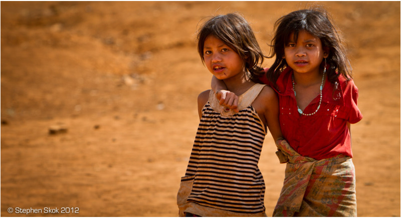 Laos, Bolaven Plateau, Katu, minority, village