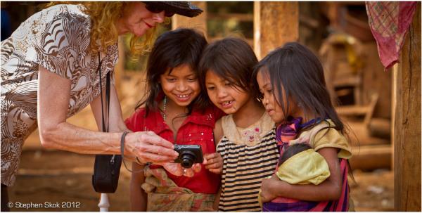 Laos, Bolaven Plateau, Katu, minority, village,