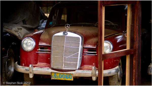 Laos, Luang Prabang, sanctuary, Mercedes Benz,