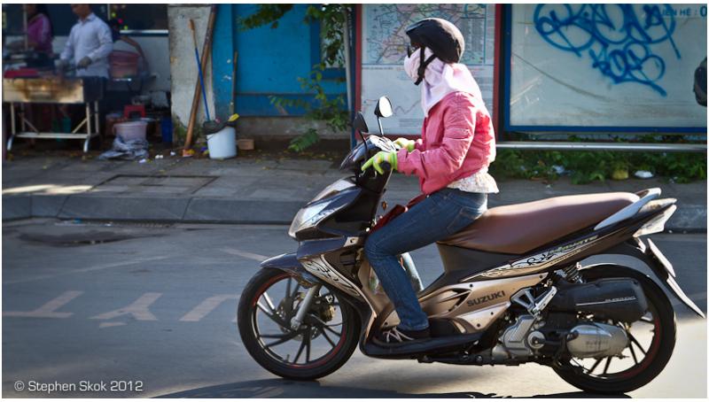 vietnam saigon ho chi minh, motorbike street