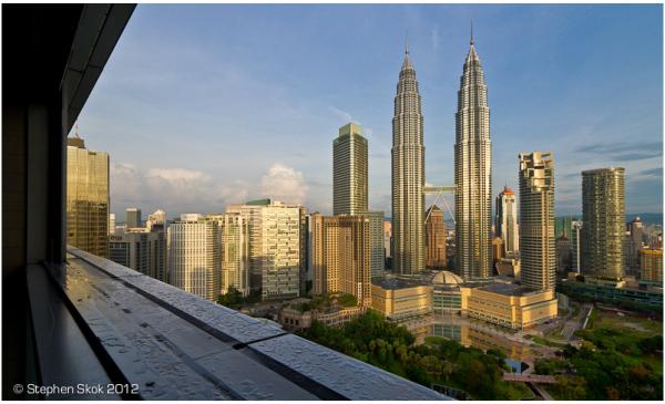 KL, Malaysia, Petronas, Towers, sunrise