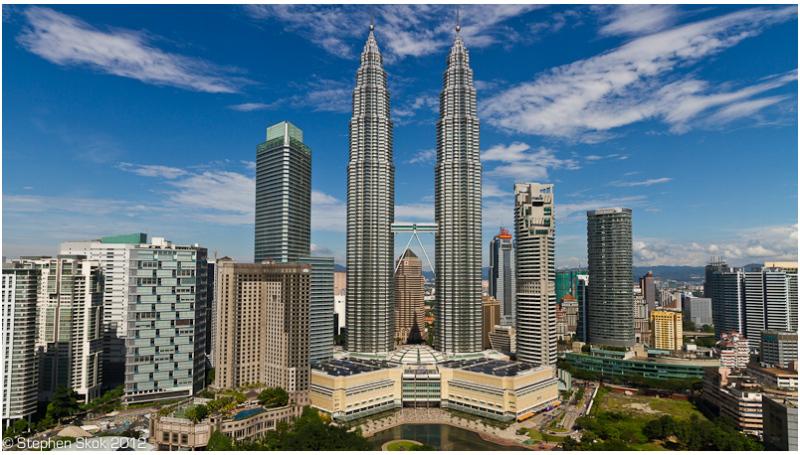 KL, Malaysia, Petronas, Towers, night