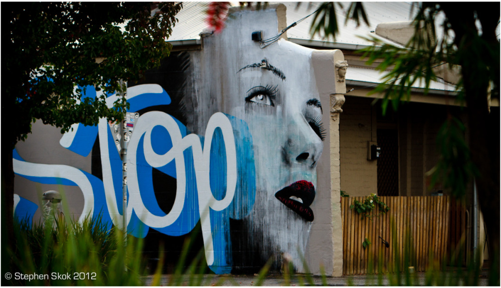 Stop, Rone, Collingwood, Paris, Seine, art, street