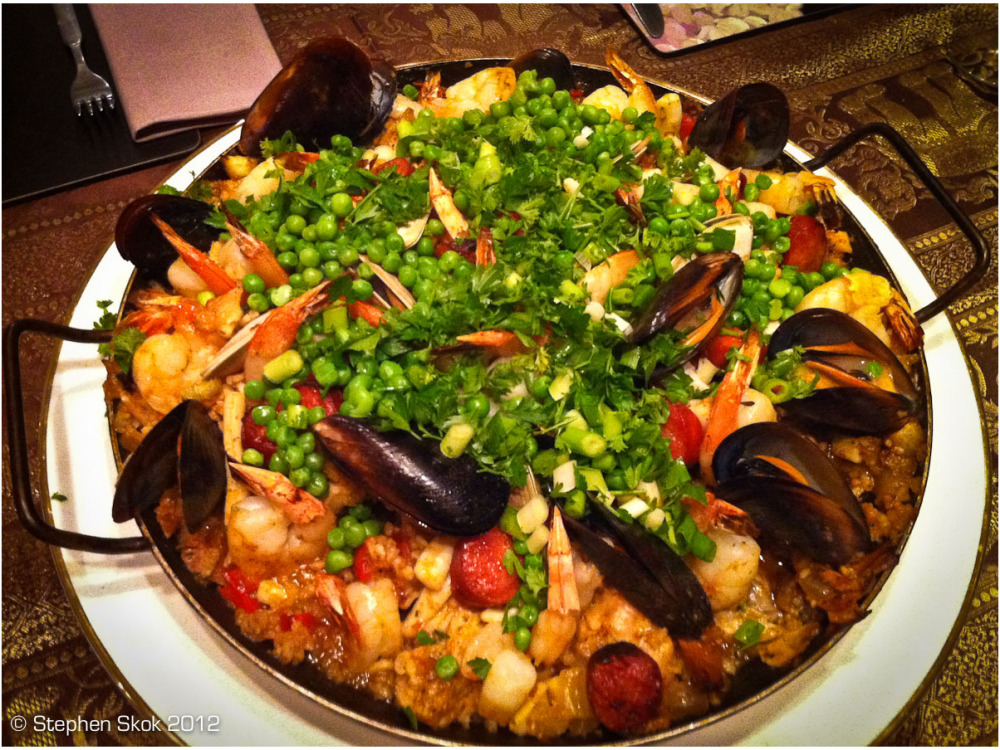 iPhone, paella, food, fun, Australia