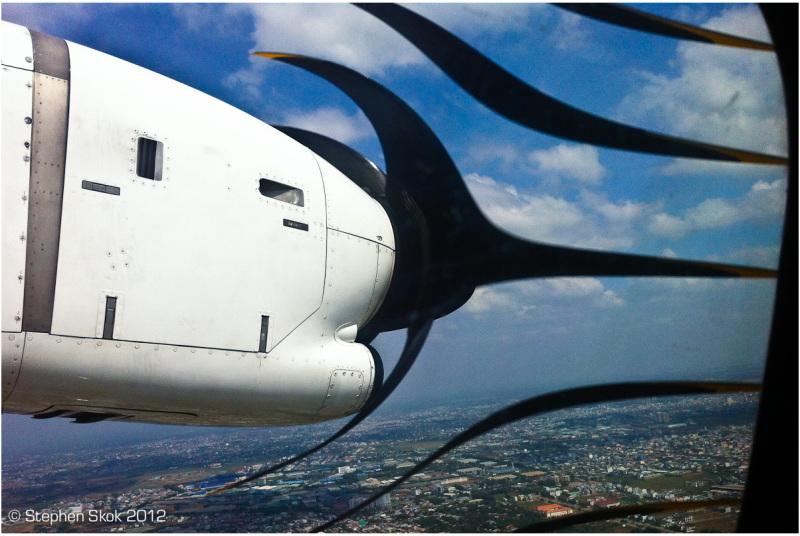 iphone, fun, rolling shutter, ATR 72, Saigon