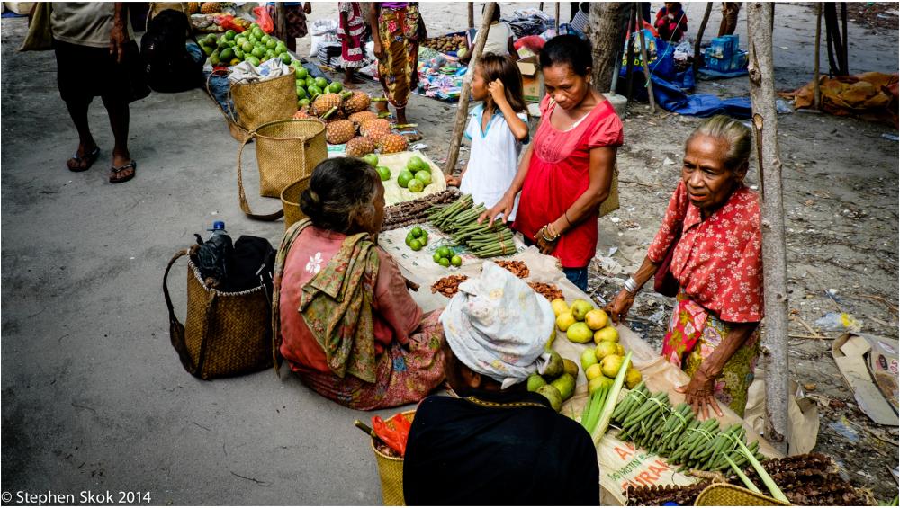 Sunday Market Atauro Island, Timor Leste