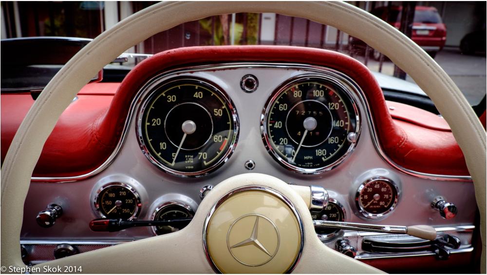 Australia Melbourne Mercedes Benz 300SL car