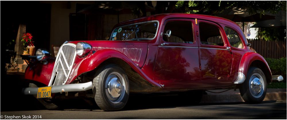 Laos, Luang Prabang, Citroen, car, 1975